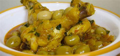 recette de cuisine de poulet recette tajine de poulet aux olives recette marocaine