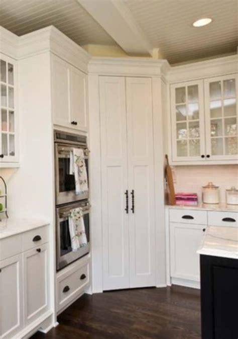 Corner pantry   House Ideas: Kitchen   Pinterest
