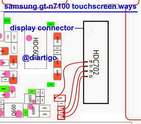 touch screen not working cant unlock samsung galaxy note ii n7100 touchscreen connector jumper