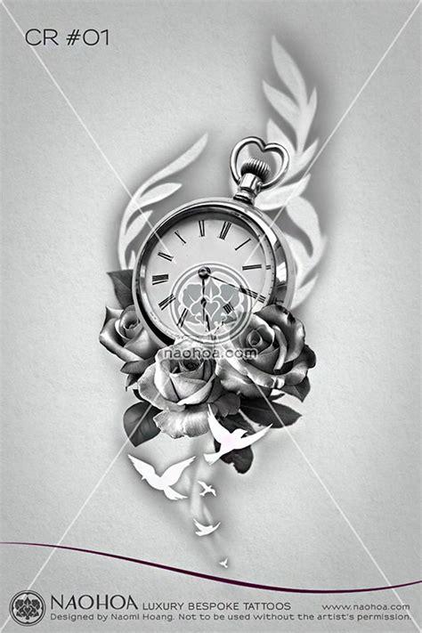 designing clocks roses naohoa