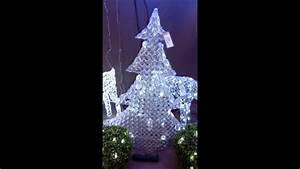 Albero di Natale Led 90cm 8 Giochi di Luce per Decorazioni Natalizie YouTube