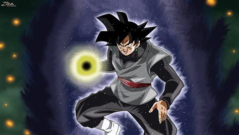 Black Goku By Zikaarts On Deviantart