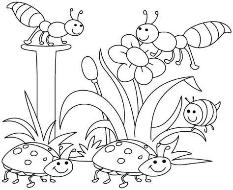 Free Spring Coloring Pages, Download Free Clip Art, Free