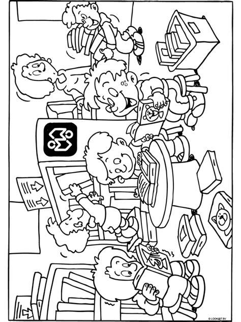 Kleurplaat Ik Ga Naar De Basisschool by Tips Bij De Kinderboekenweek 2019 Kinderboekenweek