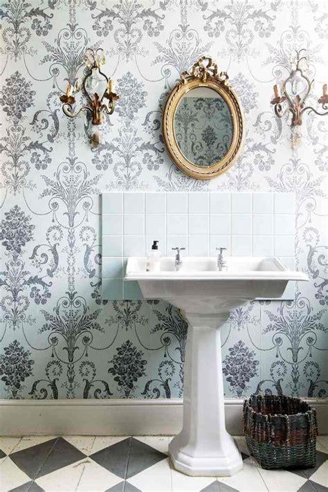 tapisserie salle de bain 4 murs palzon