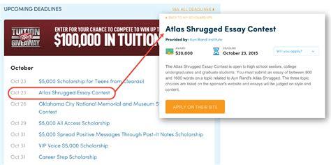 writing scholarship essay your goals