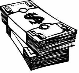 Black And White Pictures Of Money - ClipArt Best