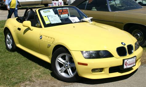 Dakar Yellow 2000 Bmw Z3 Convertible