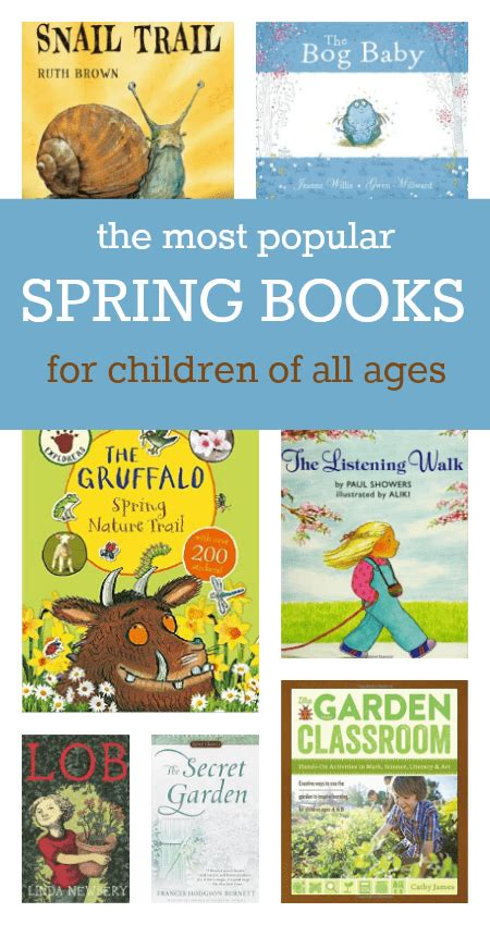the most popular books for children of all ages 639 | most popular spring books for children all ages