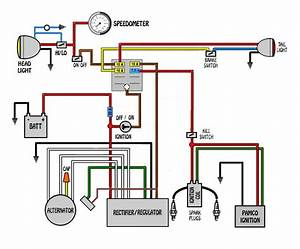 Wiring Diagram For 1974 Honda Cb550