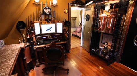 steampunk house youtube