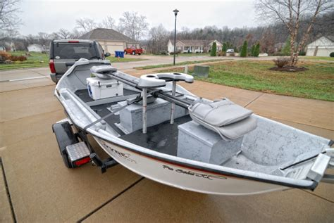 Hyde Drift Boat G4 Bottom by Ozarkchronicles Out With The Boat And In With
