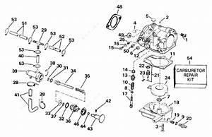 Johnson 1991 25 - J25rweim  Carburetor