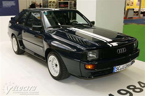 1984 Audi Sport Quattro Information