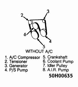 1995 Chevrolet Suburban Serpentine Belt Routing And Timing