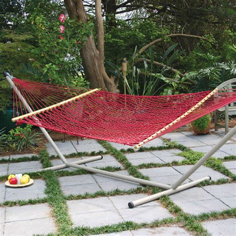 original pawleys island duracord hammock  stand dfohome