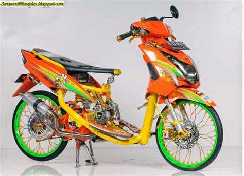 Modifikasi Mio Soul 2010 by Racing Itu Indah Yamaha Mio Soul 2010 Surabaya Zona