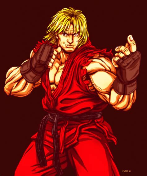 Ken Street Fighter By Eddieholly On Deviantart