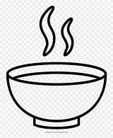 Soup Coloring Bowl Drawing Sopa Noodle Colorear Para Dibujos Clip Clipart Bowls Jing Fm sketch template