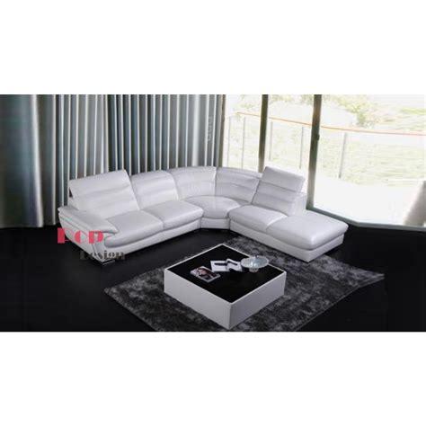 canapé cuir veritable canapé d 39 angle en cuir véritable pop design fr