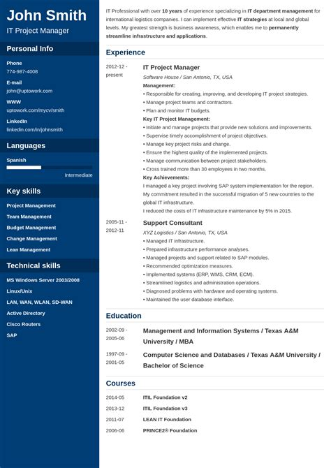 Professional Cv Builder Free by Professional Resume Template Cascade Career Builder