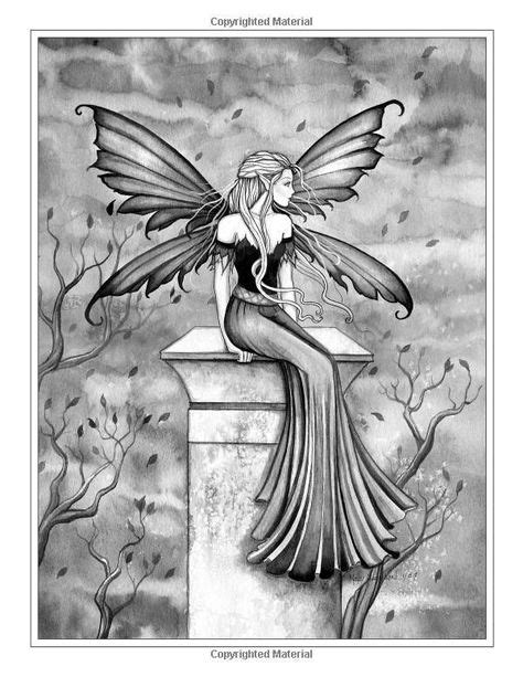 Related image | Fairy coloring pages, Grayscale coloring