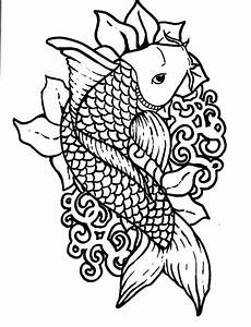 Tag Fish Pictures To Color For Kids