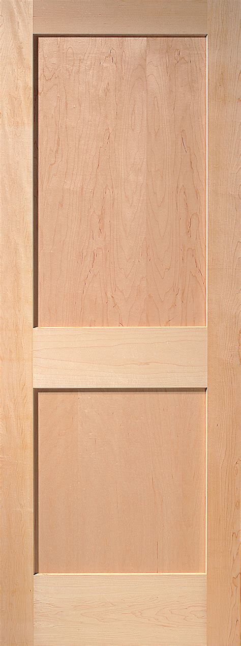 panel maple interior door