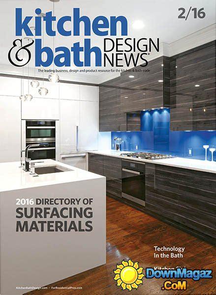 kitchen design news kitchen bath design news february 2016 187 pdf 1285