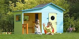 Grande Cabane Enfant : 5 id es originales pour personnaliser la cabane en bois des enfants ~ Melissatoandfro.com Idées de Décoration