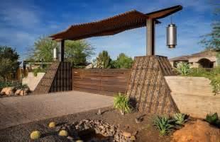 Japanischer Garten Eingangstor by Gabionenwand Im Garten Vielseitiges Gestaltungselement