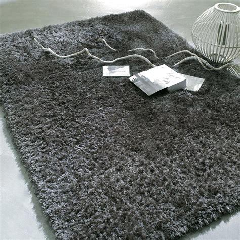 tapis wilson poil gris 160x230 maisons du monde