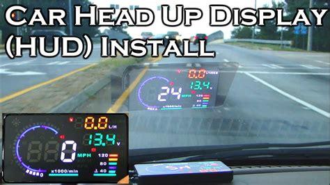 car head  display   obdii hud review