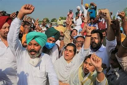 Farmers India Protests Farmer Farm Punjab Protest