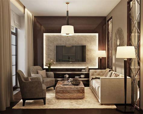Living Room Apartment Interior Design by Marchenko Pazyuk Design Small Luxury Apartment Design