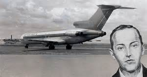 Image result for D.B. Cooper, parachuted from a Northwest Airlines 727