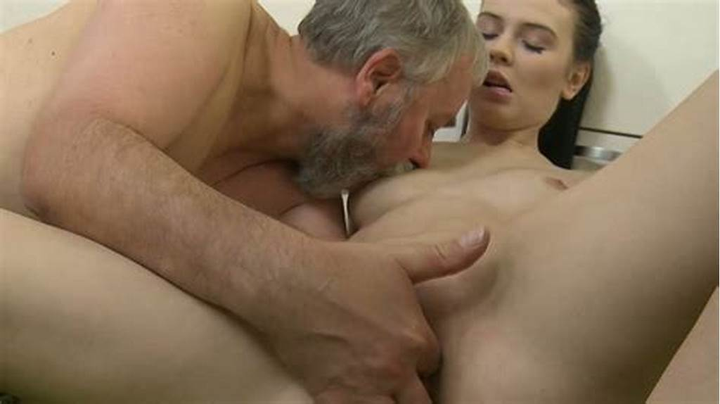 #Bearded #Grandpa #Licks #And #Drills #With #His #Cock #Teenage #Pussy
