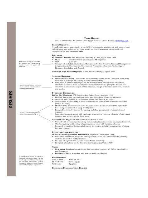 Non Chronological Resume Exle by Chronological Resume Template 6 Free Templates In Pdf