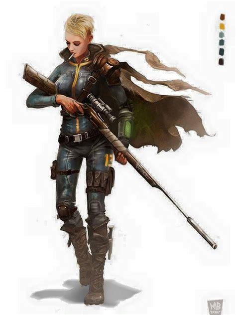 Fallout Female Vault Dweller Fan Art Fallout Fan Art
