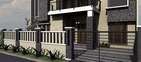 contoh pagar rumah minimalis frideas