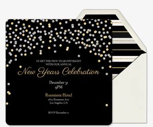 years eve party invitations evite