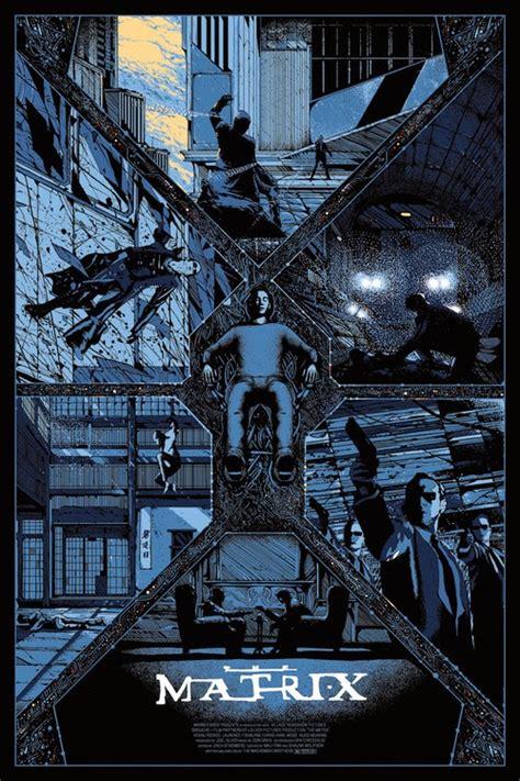 matrix glow   dark poster  kilian eng geektyrant