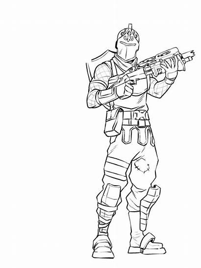 Fortnite Coloring Pages Skin Fan Sheets Printable