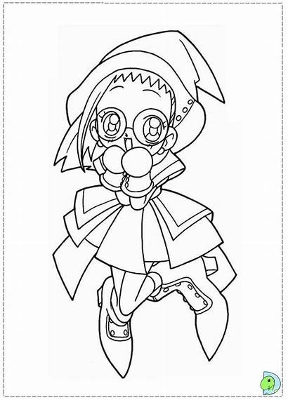 Magical Doremi Coloring Desenhos Colorir Malvorlagen Badman