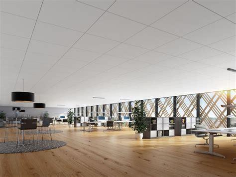 Moderne Len Plafond by Rockfon Introduceert De Meest Witte Plafondpanelen Tot Nu