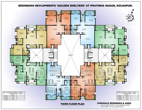architecture plans apartment building floor awesome model outdoor room in