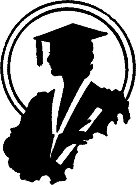 Graduation Silhouette Image - Young Lady! - The Graphics Fairy
