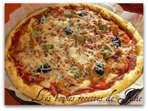 pizza au thon les bonnes recettes de julie
