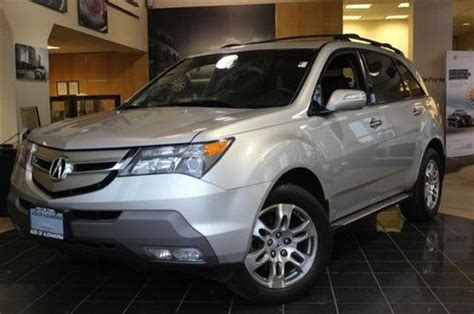 Sell Used This Suv Sparkles Classy This 2008 Mdx Is For