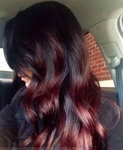 Ombré Hair Rouge : balayage californien rouge ~ Melissatoandfro.com Idées de Décoration